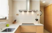 apartment furnished, modern kitchen